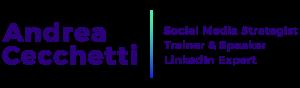 Andrea Cecchetti consulente social media linkedin Facebook Roma